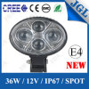 차 Vehicles Accessories 36W 크리 사람 LED Headlight 세륨 RoHS E4