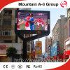 P6 RGB Straßen-Video, das im Freienled-Vorstand bekanntmacht