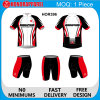 Sublimation su ordinazione Elastic Long Sleeve Cycling Wear per Men