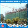 Redes de segurança da construção do andaime do HDPE/rede de proteção segurança do edifício
