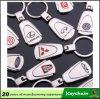 Emblema Keychain del coche de metal de la forma del trapezoide de la manera