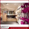 Розничный стеллаж для выставки товаров дизайна интерьера магазина нижнего белья для торгового центра