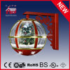 LEDs를 가진 크리스마스 Tree Inside Festival Red Wall Decoration Lamp
