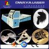 Machine de découpage de laser de fibre d'acier inoxydable de commande numérique par ordinateur/tôle