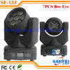 Étape 7X10W 4in1 DEL Mini Moving Head DJ Lighting