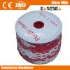 Vermelho Branco Cor 50m Comprimento Chain Link Plástico (PC-4)