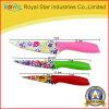 Нож нержавеющей стали PCS цвета 3 краски брызга установленный (RYST0102C)