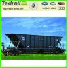Carro de la tolva de Tedrail para el transporte de carbón con la certificación de Uic, acoplado del tren