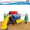 Campo de jogos plástico ao ar livre do equipamento do parque de diversões das crianças (HF-20514)