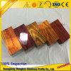 Les graines en bois en aluminium de l'électrophorèse 3D de profil d'extrusion pour le profil de tube