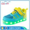 2017最新の方法様式ライトはLEDの子供の靴に中国製蹄鉄を打つ