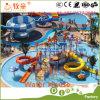 プールのための組合せのガラス繊維水スライド