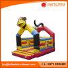 Bouncer rimbalzante dei capretti gonfiabili della scimmia 3D da vendere (T1-014)
