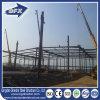 Vertiente de la estructura de acero del taller