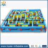 Kundenspezifisches aufblasbares Laser-Labyrinth, großes aufblasbares Labyrinth