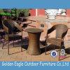 Brown-Farben-Rattan-Möbel, die Set für Balkon speisen