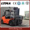 Entregando a equipamento a gasolina de 6 toneladas Forklift hidráulico