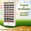 Vegetais e máquina de Vending da fruta com carrinho