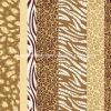il leopardo Pigment&Disperse della zebra 100%Polyester ha stampato il tessuto per l'insieme dell'assestamento