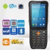 Androider Geschäfts-Systems-Strichkode, der mobiles Daten-Terminal liest