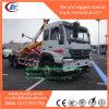 Sinotruk Styre 건너뜀 로더 패물 트럭은 쓰레기 차량을 복사한다