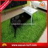 Herbe synthétique de décoration Anti-UV d'horizontal pour le jardin