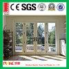Europäische Art-Doppelverglasung-Flügelfenster-Tür