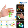 Leuchtender Farben-Unruhe-Finger-spinnende Kugeln
