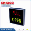 LED Double Colors Sw Method Caution Sinal iluminado on Sign