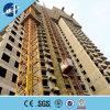 Elevador da construção da freqüência 0~63m/Min Sc200/200/grua da construção