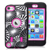 Laser móvil Engraving Flower Caso de Phone Caso New Arrival Good Quality High Impact para el iPod Touch5