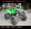 Enfriar ATV Sport 125cc, ATV Silenciador doble (ET-ATV048)