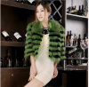 Racoon Fur Coat avec Factory Price