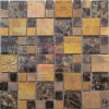 Reaationary Design Copper met Marble en Glass Mosaic (CFM980)