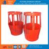 Выскальзование вспомогательного оборудования цемента на корзине лепестка металла цементируя