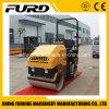 Volle hydraulische 2 Tonnen-selbstangetriebene Vibrationsstraßen-Rolle für Verkauf