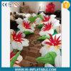 Fontes Wedding, diodo emissor de luz de venda quente que ilumina a corrente de flor inflável 004 para o estágio, decoração do partido
