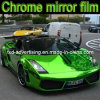 Envolvimento Stretchable elevado do cromo da película do vinil do cromo do carro da folha do cromo