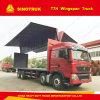 Sinotruk HOWO T7h 8X4 Wing Van Truck à vendre