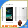 가장 새로운 3G Smart Phone 4.5  WCDMA 850 1900 2100 Dual SIM Phone Quad Core Android 4.4 Smart Phone W45