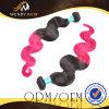 Virgin Ombre 색깔 인도 바디 파 머리