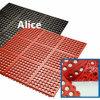 Противоскольжения Взаимная блокировка Краевые Резиновые коврики для коммерческих кухнях