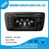 GPS Navigation van de auto voor Seat Ibiza 2009-2013 met bouwen-in GPS A8 Chipset RDS BT 3G/WiFi DSP Radio 20 Dics Momery (tid-C246)
