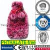 Leopardo caldo di colore rosa del coperchio della bottiglia di acqua della peluche falsa della pelliccia del CE