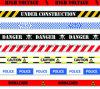 提供は多色刷りの注意テープ警告テープをカスタマイズした