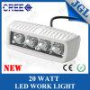 CREE 20W da lâmpada do trabalho do diodo emissor de luz de Jgl com carcaça branca