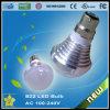 C.A. 100-240V brilhante da ceia da luz de bulbo do diodo emissor de luz B22