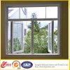 Finestra di vetro isolata insonorizzata/dell'alluminio finestra di alluminio