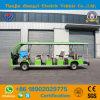 SGS와 세륨 증명서를 가진 행락지를 위한 새로운 상표 17 시트 전기 배터리 전원을 사용하는 관광 차