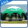 판매를 위한 튼튼한 휴대용 큰 팽창식 돔 거미 천막